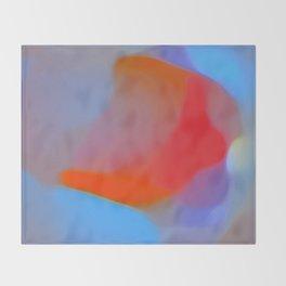 Diffuse colour Throw Blanket