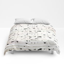 birch watercolor pattern 2018 Comforters