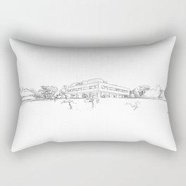 Le Corbusier Panorama Sketch Rectangular Pillow
