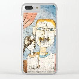 Adam and Little Eve by Paul Klee, 1921 Clear iPhone Case