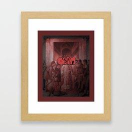 I Beg Framed Art Print