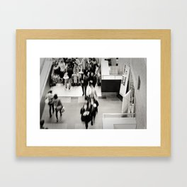Shopping Centre Framed Art Print