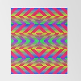 Psychedelic Throw Blanket
