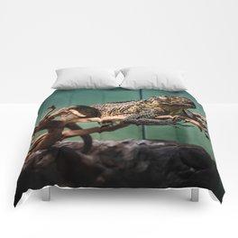 Languid Lizard Comforters