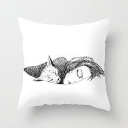 Time to sleep Throw Pillow
