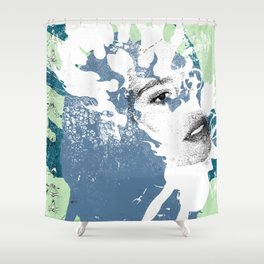 Blow Back - 1 Shower Curtain