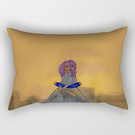 Rock Girl Rectangular Pillow