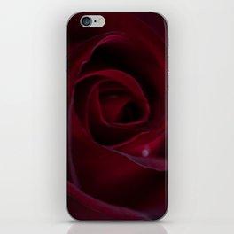 Velveteen Ruby iPhone Skin