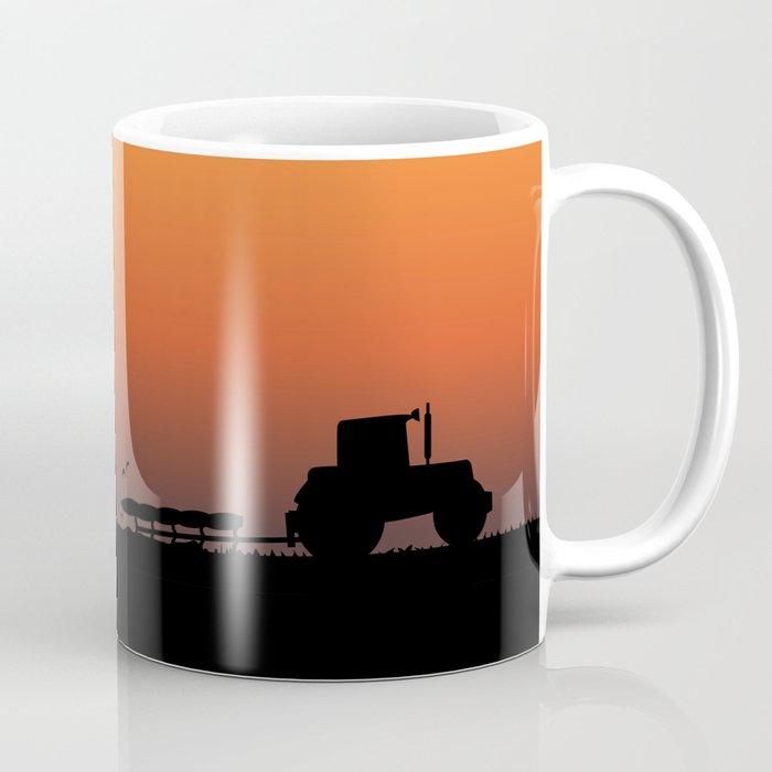 Ploughing the Field Coffee Mug