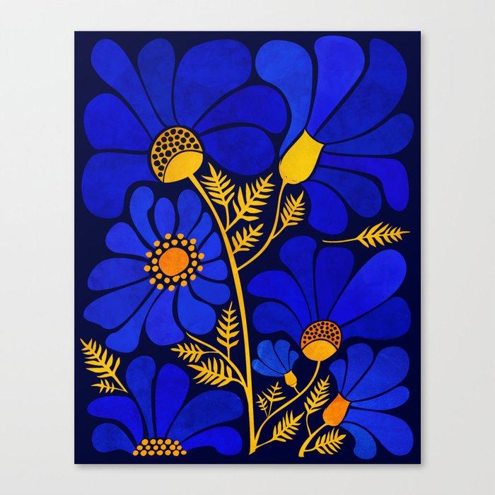 Wildflower Garden Leinwanddruck