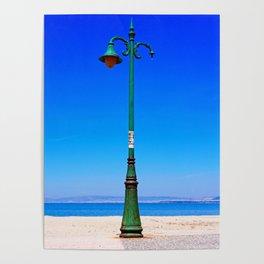 Peraia lamppost Poster
