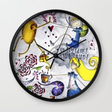 Finn and Jake Lost in Wonderland Wall Clock