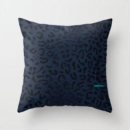 Modern Woodgrain Camouflage / Zaire KDP Print Purple Throw Pillow
