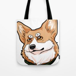 Pembroke Welsh Corgi Dog Doggie Puppy Present Gift Tote Bag