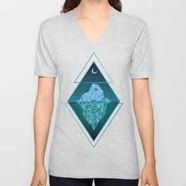 Iceberg Geometric Unisex V-Neck
