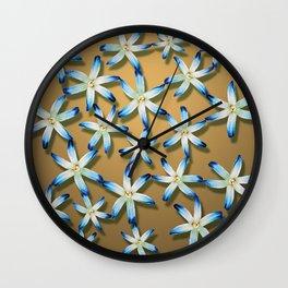Golden sky Wall Clock
