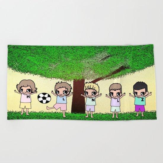 1D-4 Beach Towel