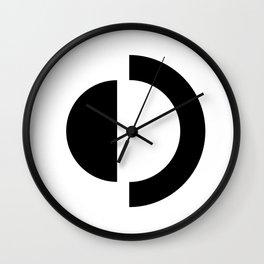 D - Alphabet Wall Clock