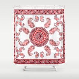 Indian Mandala Tapestry Shower Curtain