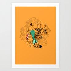 Mer'MEAL Art Print