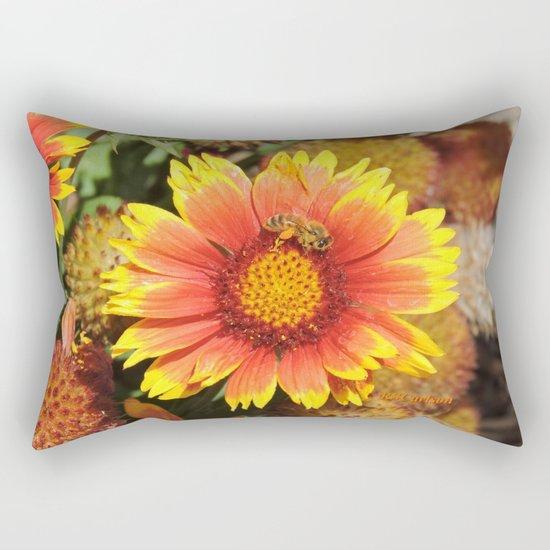 Spring in Progress #2 Rectangular Pillow