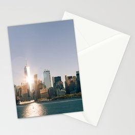 Morning over Manhattan Stationery Cards