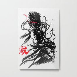 Evil Ryu Metal Print