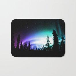 Aurora Borealis Forest Bath Mat