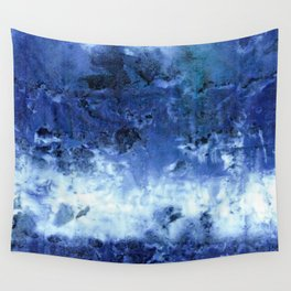 Saltwater Silk Blue Wall Tapestry
