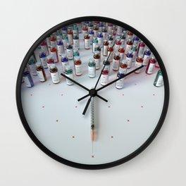 """Daily medicine"" Wall Clock"