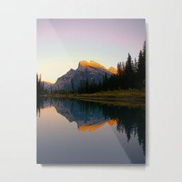 Mt. Rundle Metal Print