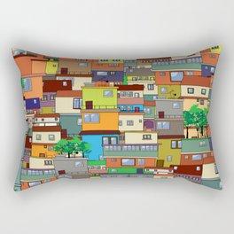 Favela, Rio de Janeiro Rectangular Pillow
