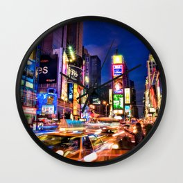 You Will Never Forget: Times Square, New York City Wall Clock