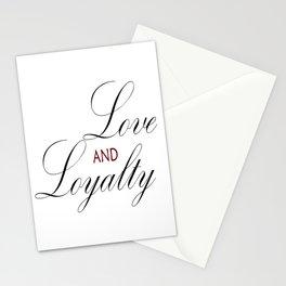 Love & Loyalty Stationery Cards