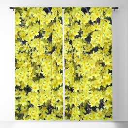 Happy Forsythia Blackout Curtain