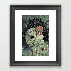 The Trears of Poison Framed Art Print