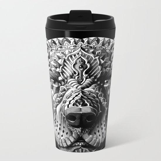 Pitbull Metal Travel Mug
