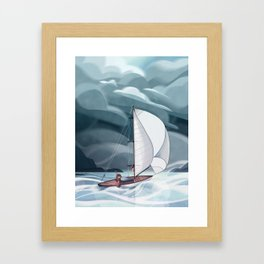 Sailing the Mermaid Isles Framed Art Print