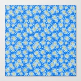 Inspirational Glitter & Bubble pattern Canvas Print