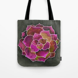 Succulent is the new Rose Tote Bag