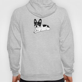 Double Hooded Pied Frenchie Hoody