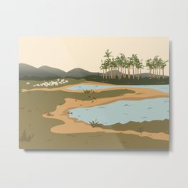 The Llanos, Colombia Metal Print