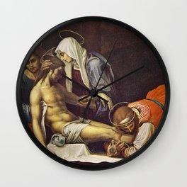 Pieta by Fra Bartolomeo Wall Clock