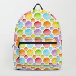 Rainbow Polka Dots Backpack