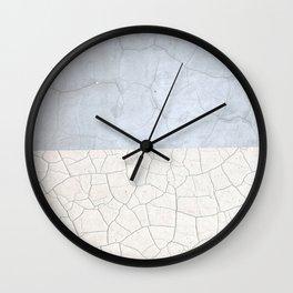 Broken stone pattern Wall Clock
