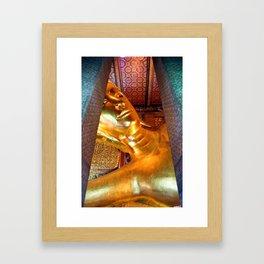 The Reclining Buddha of Wat Pho Framed Art Print
