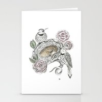 guardians Stationery Cards featuring Guardians by KC Gillies