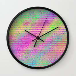 The Incident at The Highlighter Factory Wall Clock