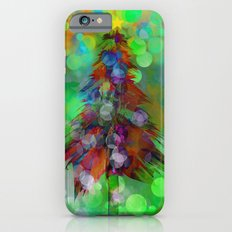 Abstract Christmas Tree - color variation iPhone 6 Slim Case