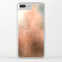 Gay Abstract 06 Clear iPhone Case
